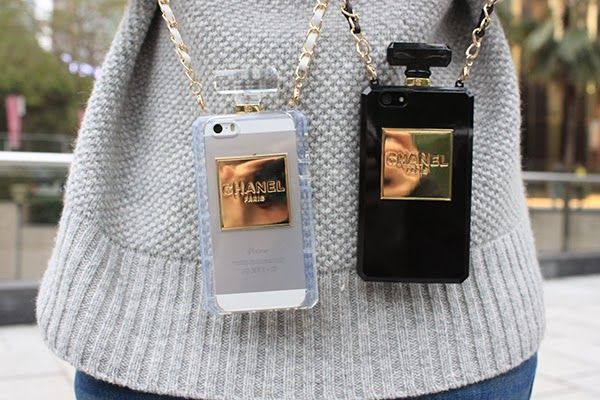 Chanel Perfume Bottle Phone Case Apple iPhone 4, 4S, 5S ...