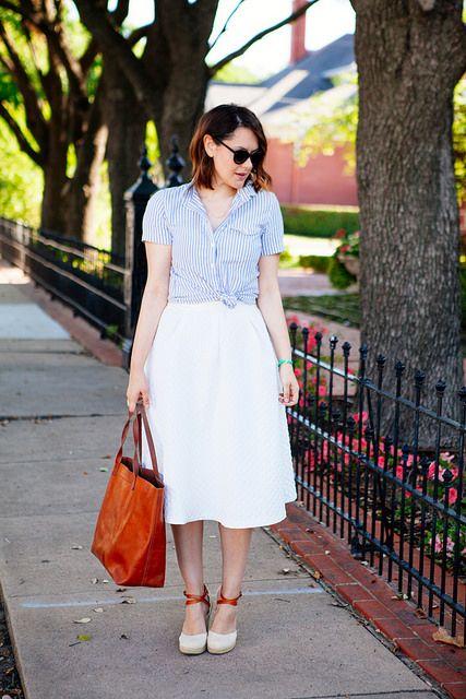 4c34a9a0bce Eliza J Pink Checkered Poplin Dress for Summer