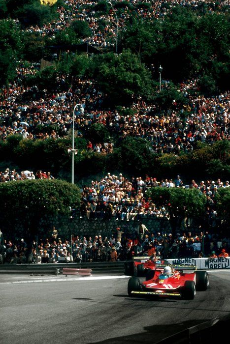 Jody Scheckter & Gilles Villeneuve, Ferrari 312 T4, Monaco, 1979