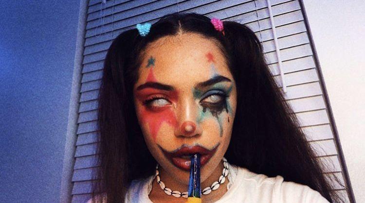 Pin By Pallas On Girls Scary Clown Makeup Cute Clown Makeup Halloween Makeup Clown