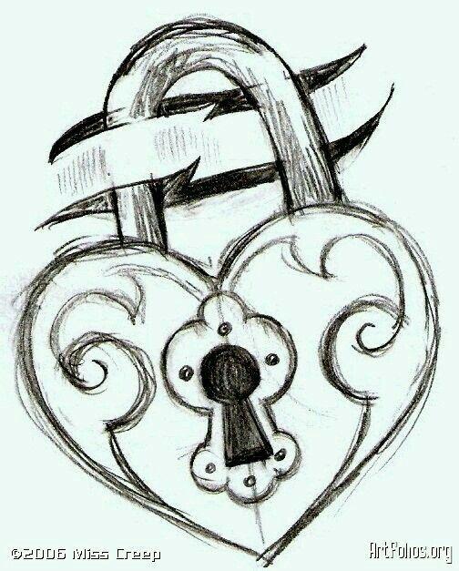 Resultado De Imagen Para Candado Lindo Para Dibujar Dibujos De Arte Simples Amor Para Dibujar Produccion Artistica