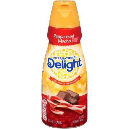 International Delight Peppermint Mocha Coffee Creamer 32 Oz Walmart Com Coffee Creamer Peppermint Mocha Mocha Coffee