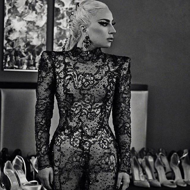2e0aaefcdd4a Lady Gaga 2018 Grammy s outfit