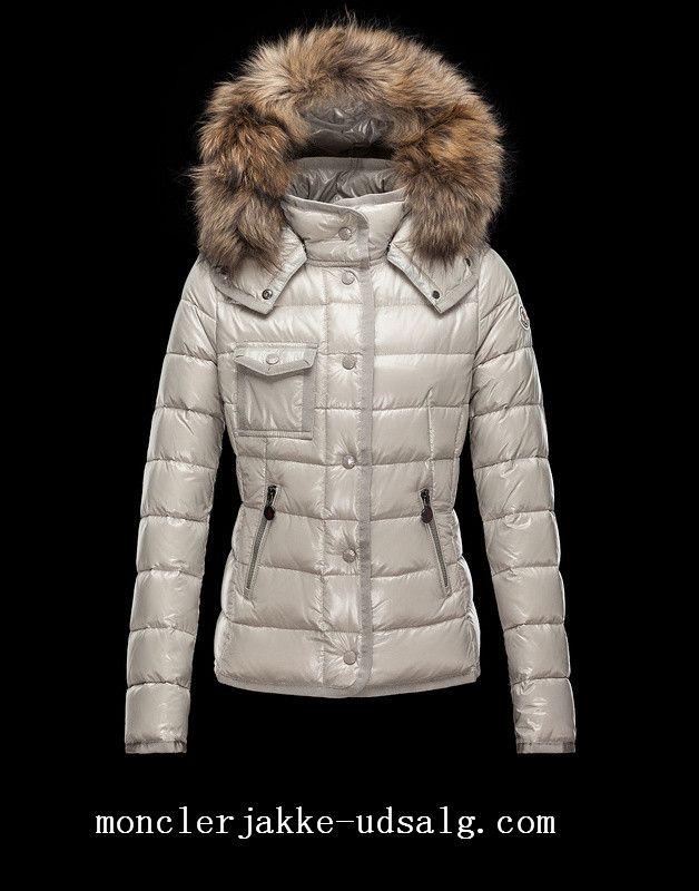 2fb39d908df ... cheap moncler womens jacket amey dame moncler armoise jakke beige hvide  norge ac040 e0031