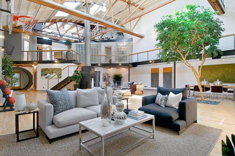 loft in trendy soma (south of market) in san francisco, california, Innenarchitektur ideen