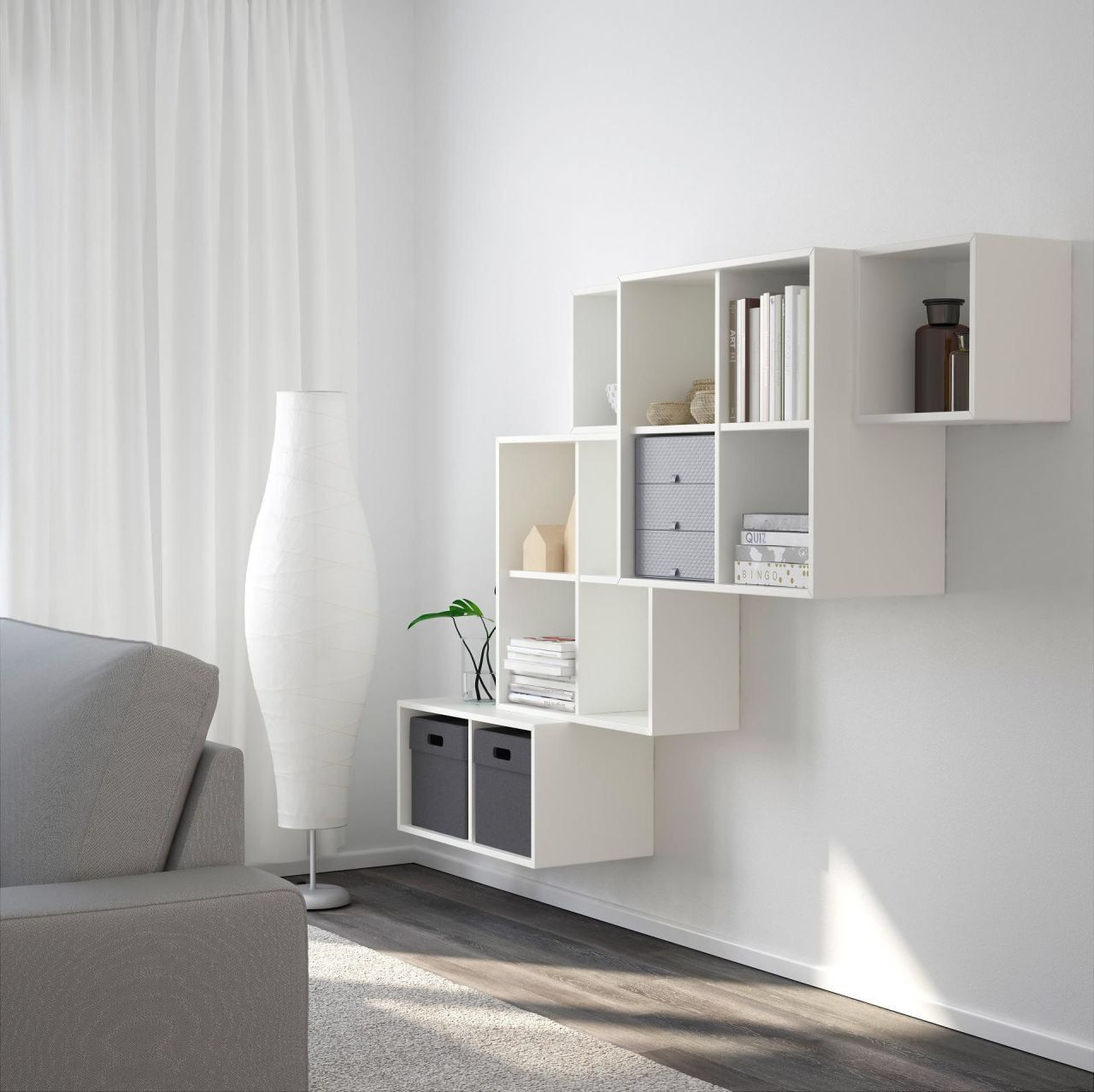 EKET WallMounted If you want your storage to make
