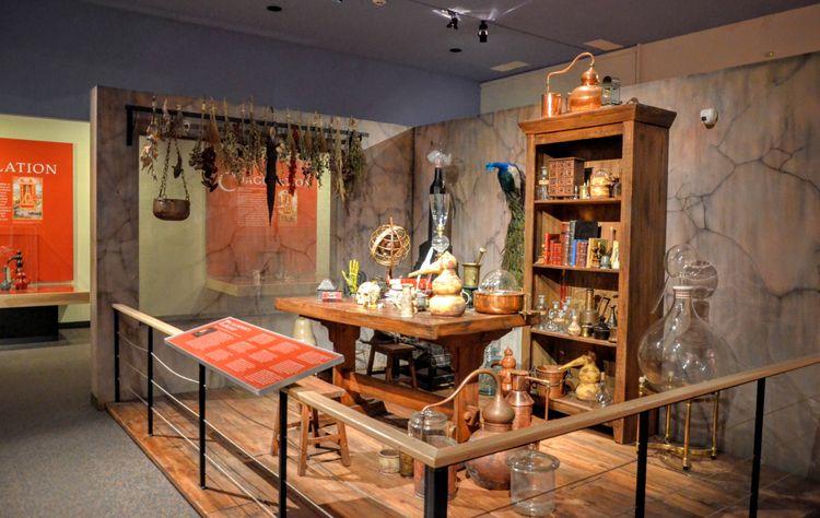 Egypt in California Rosicrucian Egyptian Museum San Jose - Alchemist's Workshop