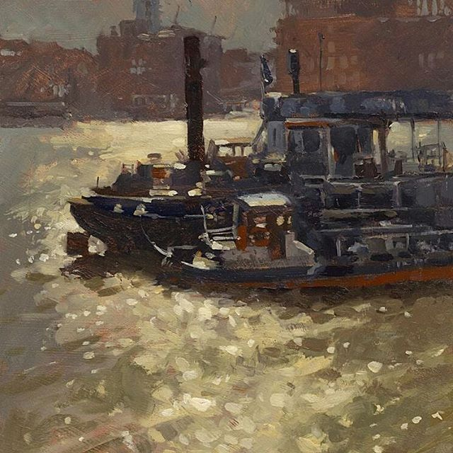 Sail Away Down The Thames With JohnWalsom Latest Paintings Nature Fineart