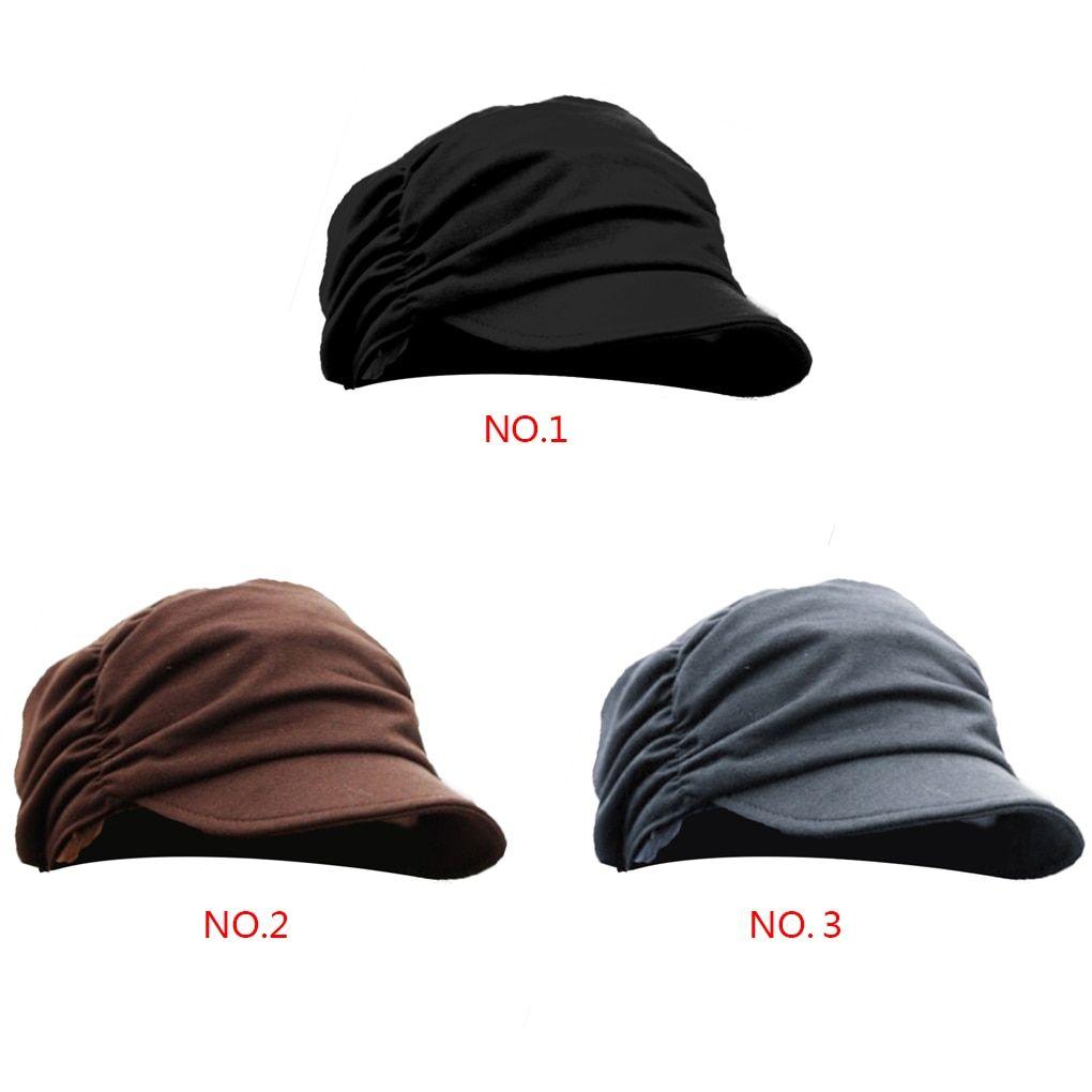 0 - Cool Colorful Women s Peaked Caps with Wrinkle Style Black Small Iron  Decoration Hats Leisure - Buy it Now!  takofashion  fashion  fashionista ... c24daae153cc