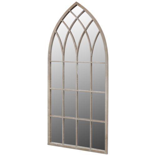bNEW-Gothic-Arch-Garden-Mirror-115x50cm-Large-Window-Mirror-Home-Indoor-Outdoor
