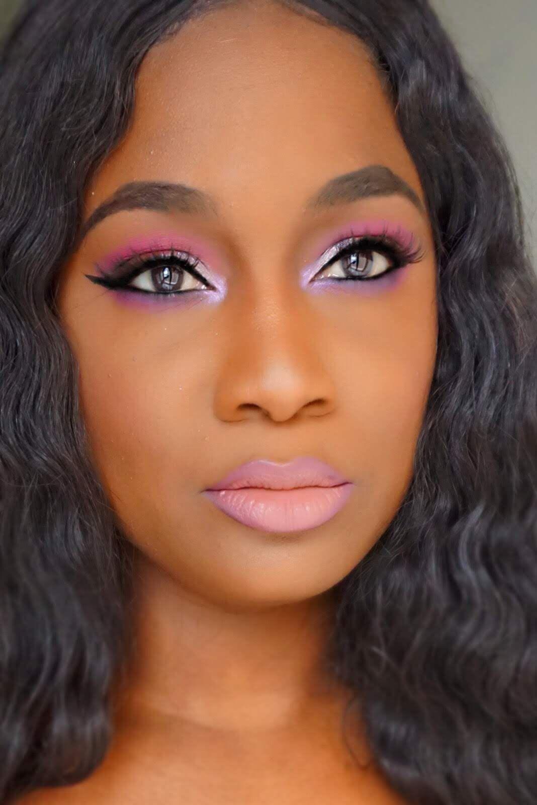 Juvia's Place Douce Palette makeup look Beauty hacks