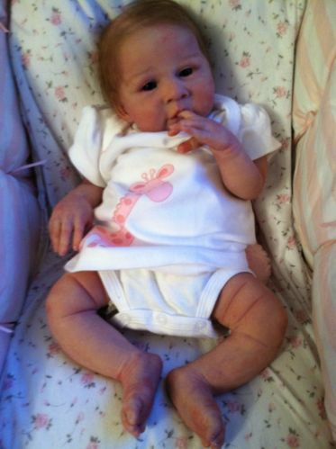 Claire Taylor Silicone Baby Zoe Lifelike Doll reborn 1d55bb3302