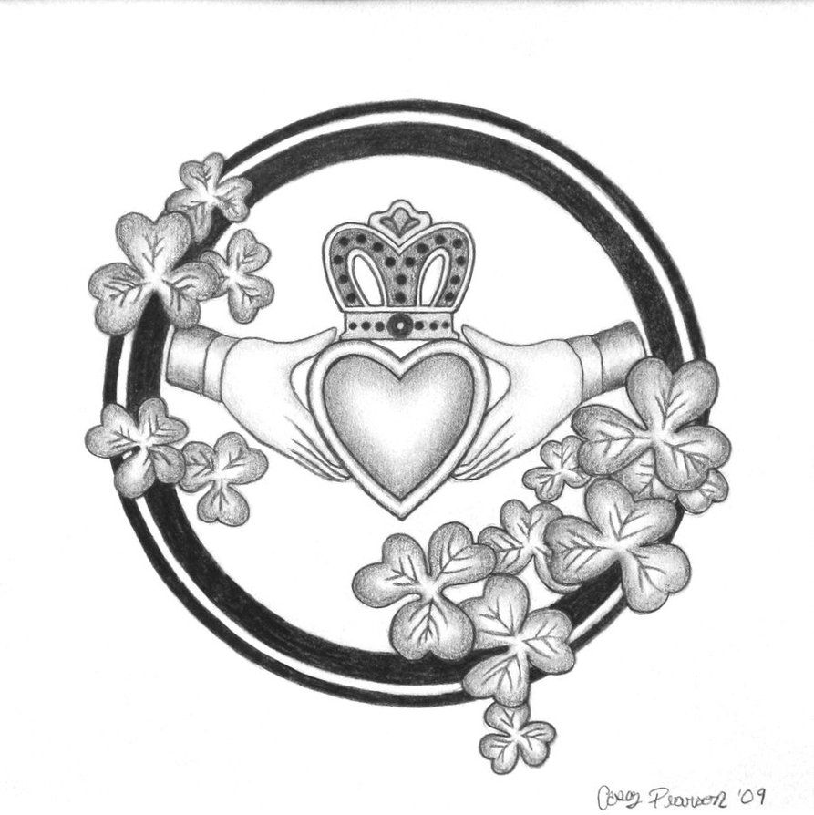 claddagh by caseypearson on deviantart all things celtic. Black Bedroom Furniture Sets. Home Design Ideas