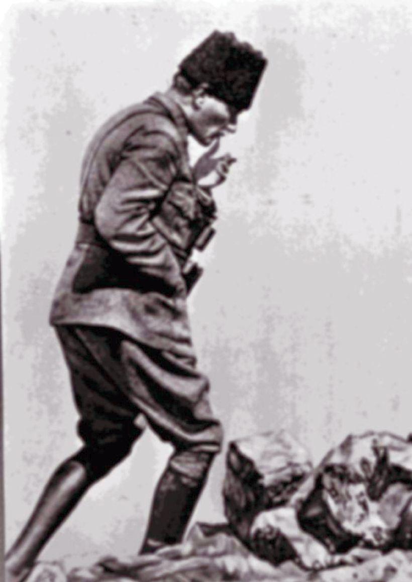 Ataturk Kocatepede Ile Ilgili Gorsel Sonucu Cizimler Karakalem Cizimler Fotograf
