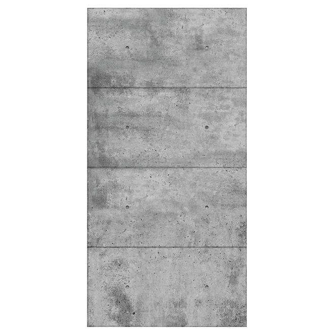 Mur Design Wall Panel Concrete Look 1 4 X 48 X 96 Panmi48tih Rona In 2020 Concrete Wall Panels Concrete Wall Concrete