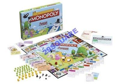 Monopoly Adventure Time Gra Planszowa Eurobiznes 6450833530 Oficjalne Archiwum Allegro Adventure Time Family Board Games Adventure Time Cartoon