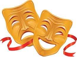 Resultado De Imagen Para Mascaras De Teatro A Color Pasta De Papel