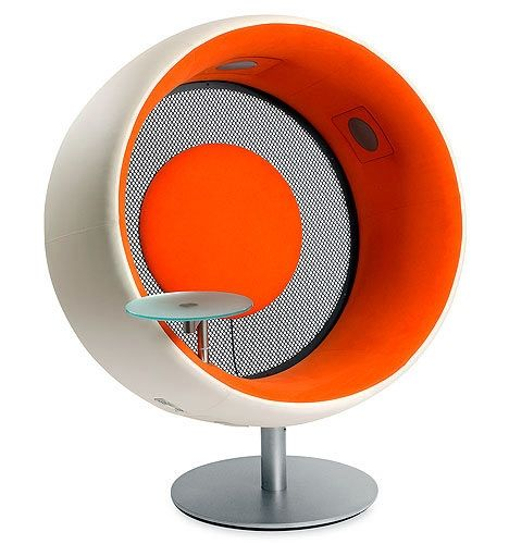 Sonic Chair: Acoustic Isolation In Style | DVICE