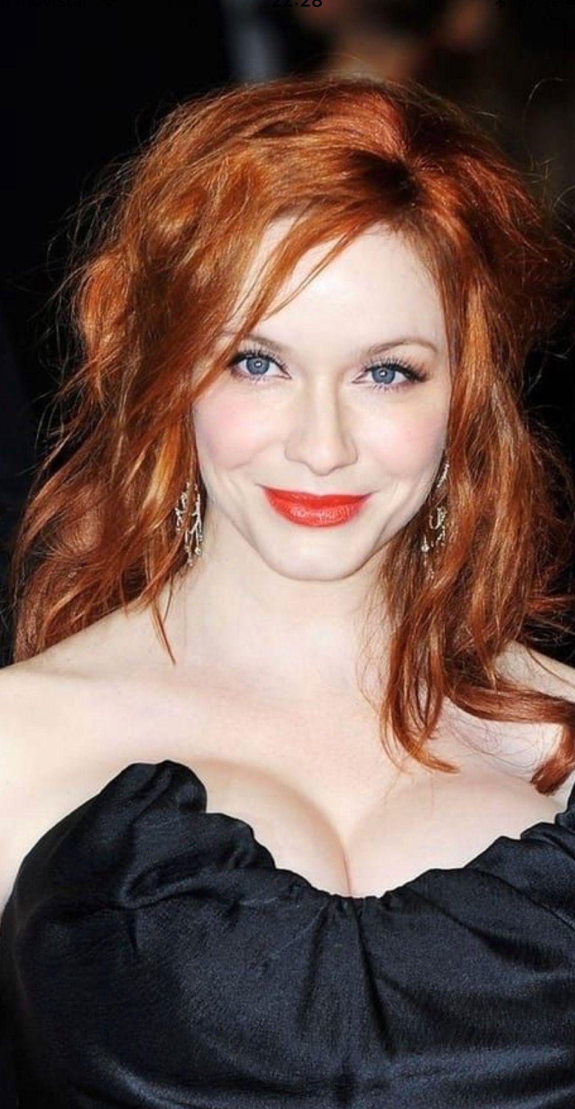 Christina Hendricks Christina Hendricks Redhead Beauty Red Hair