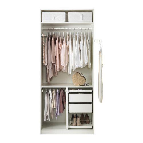 PAX Kleiderschrank - Scharnier - IKEA Kleiderschrank Pinterest - Ikea Schlafzimmer Schrank
