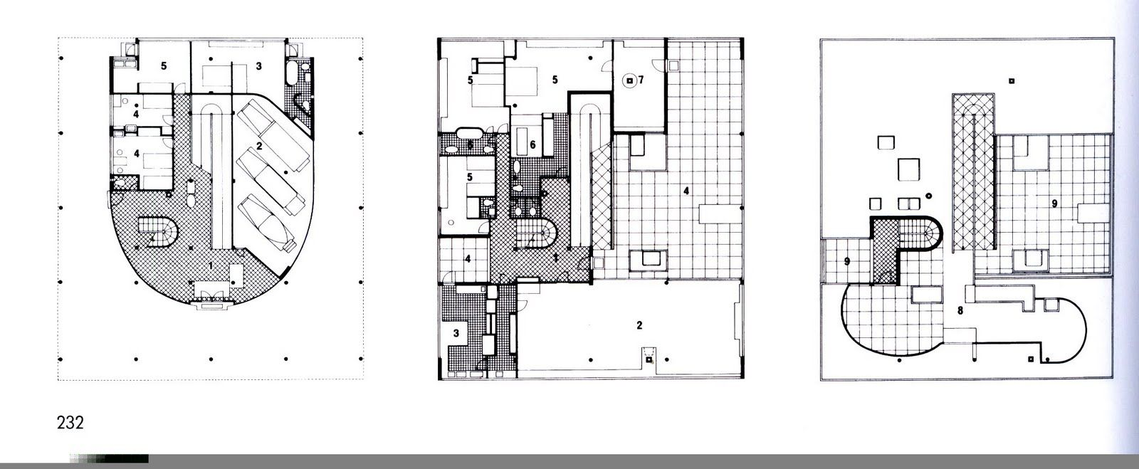 Pin by sunny on villa savoye pinterest villa savoye for Architecture de plan libre