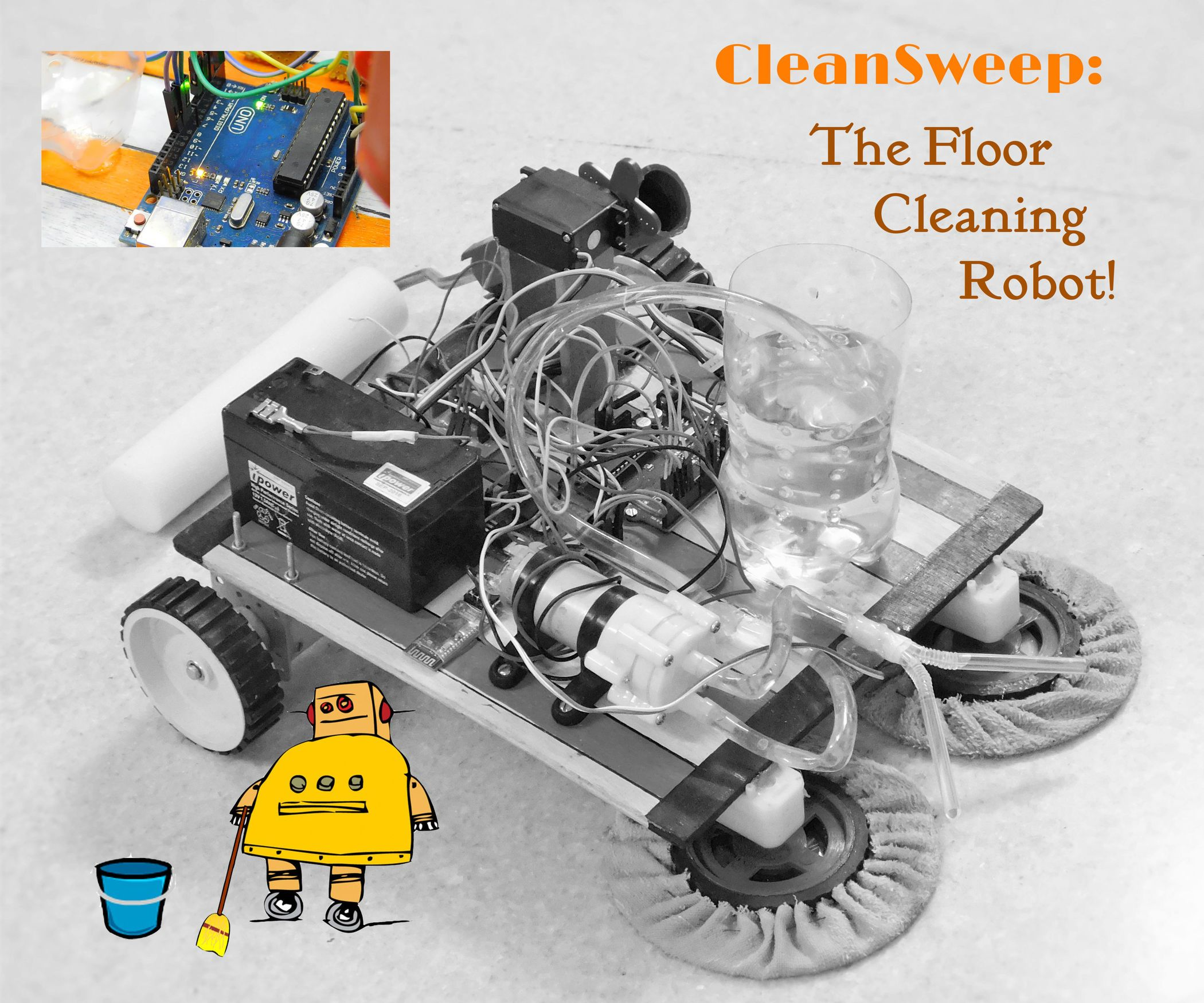Cleansweep The Floor Cleaning Robot Cleaning Robot Floor