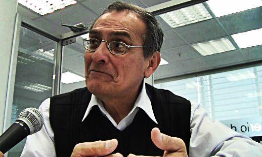Manuel Paiba, director de Trayectoria y Bienestar Docente de la Dirección General de Desarrollo Docente del Ministerio de Educación [Foto: Jaime Canicoba / Spacio Libre].