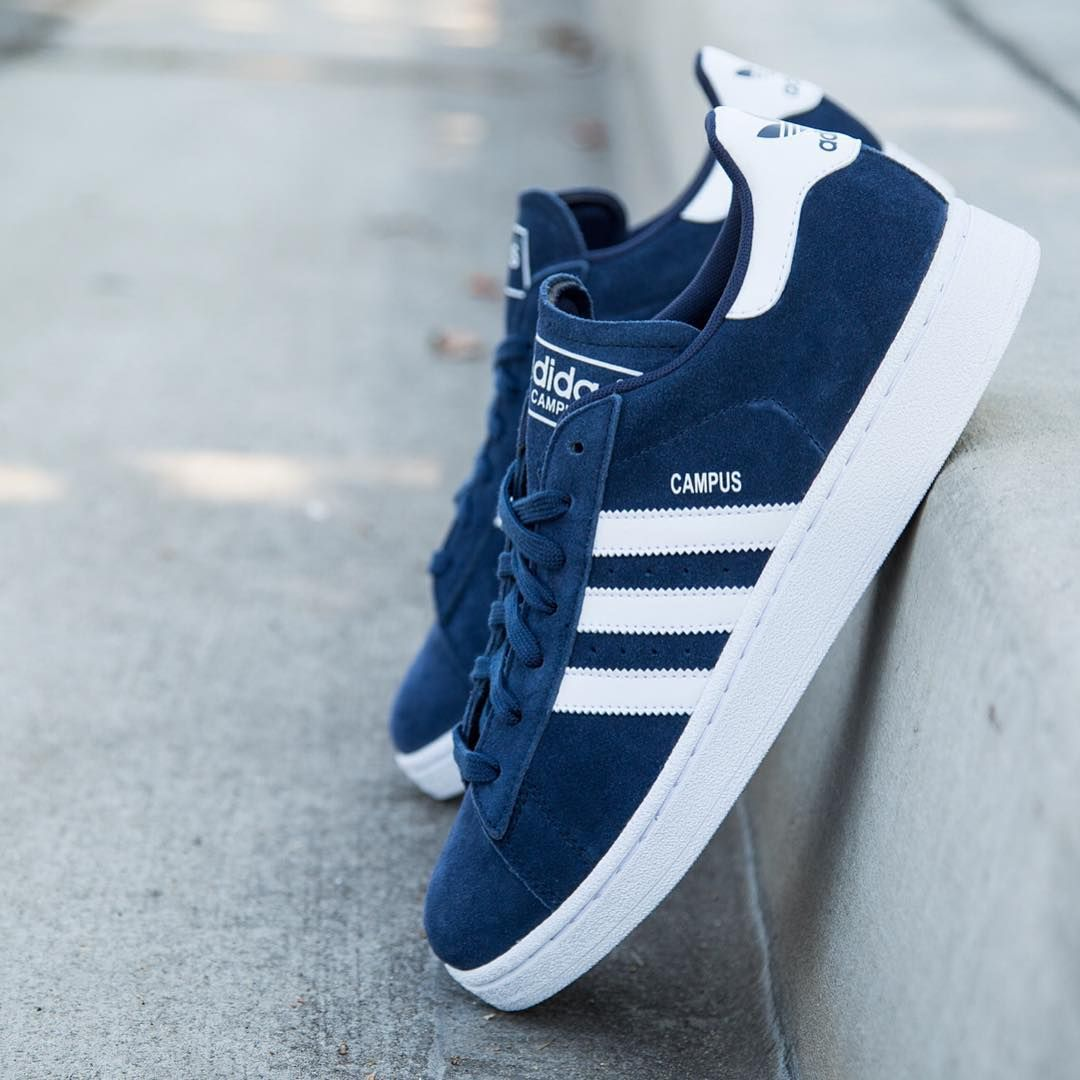 66c020333eca adidas Originals Campus  Navy White