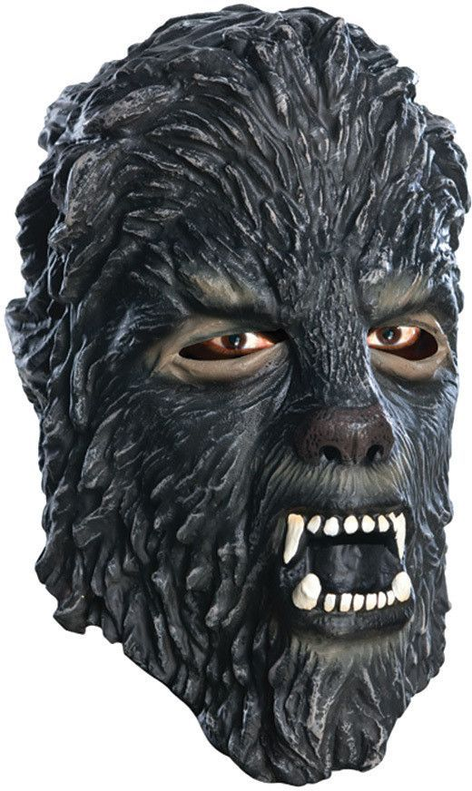 The Wolfman Adult 3//4 Vinyl Mask