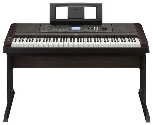 Yamaha - Full-Size Keyboard with 88 Piano-Style Touch-Sensitive and Weighted Keys - Black