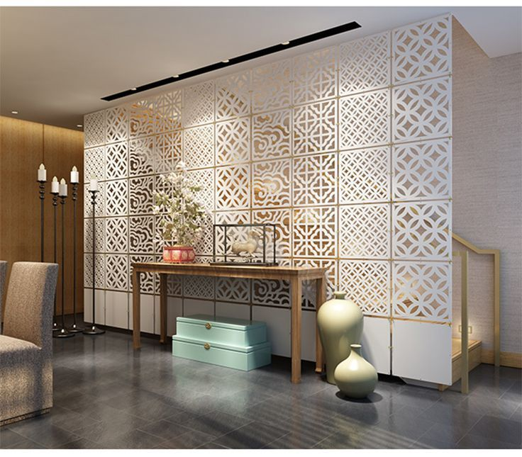 This Is One Of The Most Customizable Option, Partition Walls Of Desired  Design Patterns Can