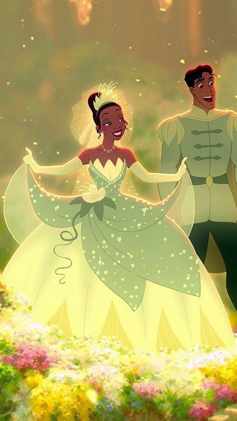 Designer unveils new disney inspired wedding dress for Princess tiana wedding dress