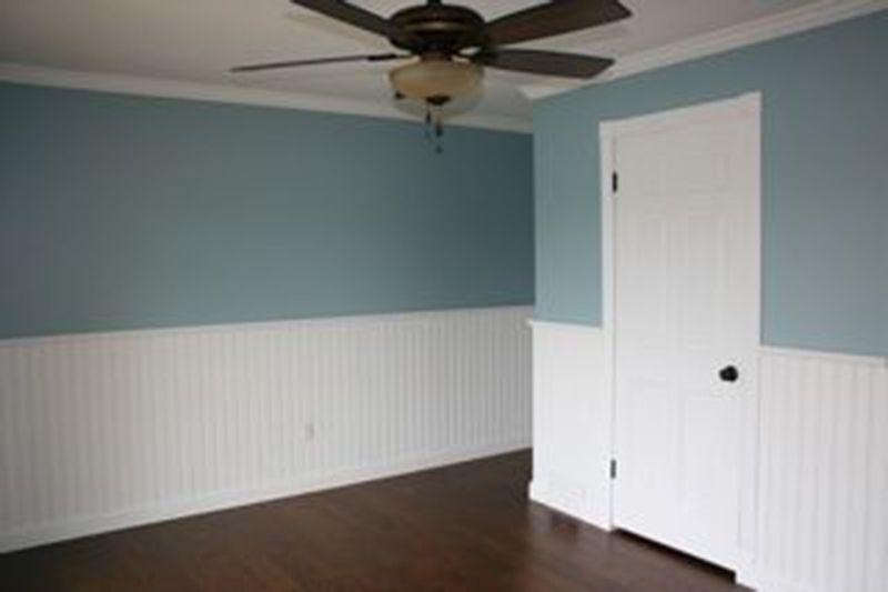 Beadboard In A Bedroom In Lake Orion Michigan By