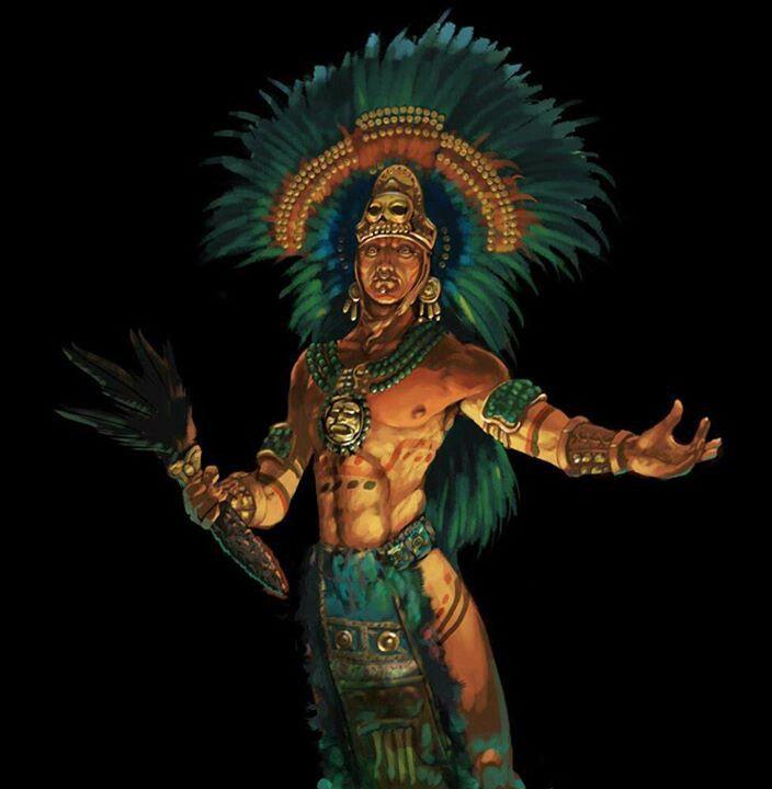 Aztec warrior #aztec