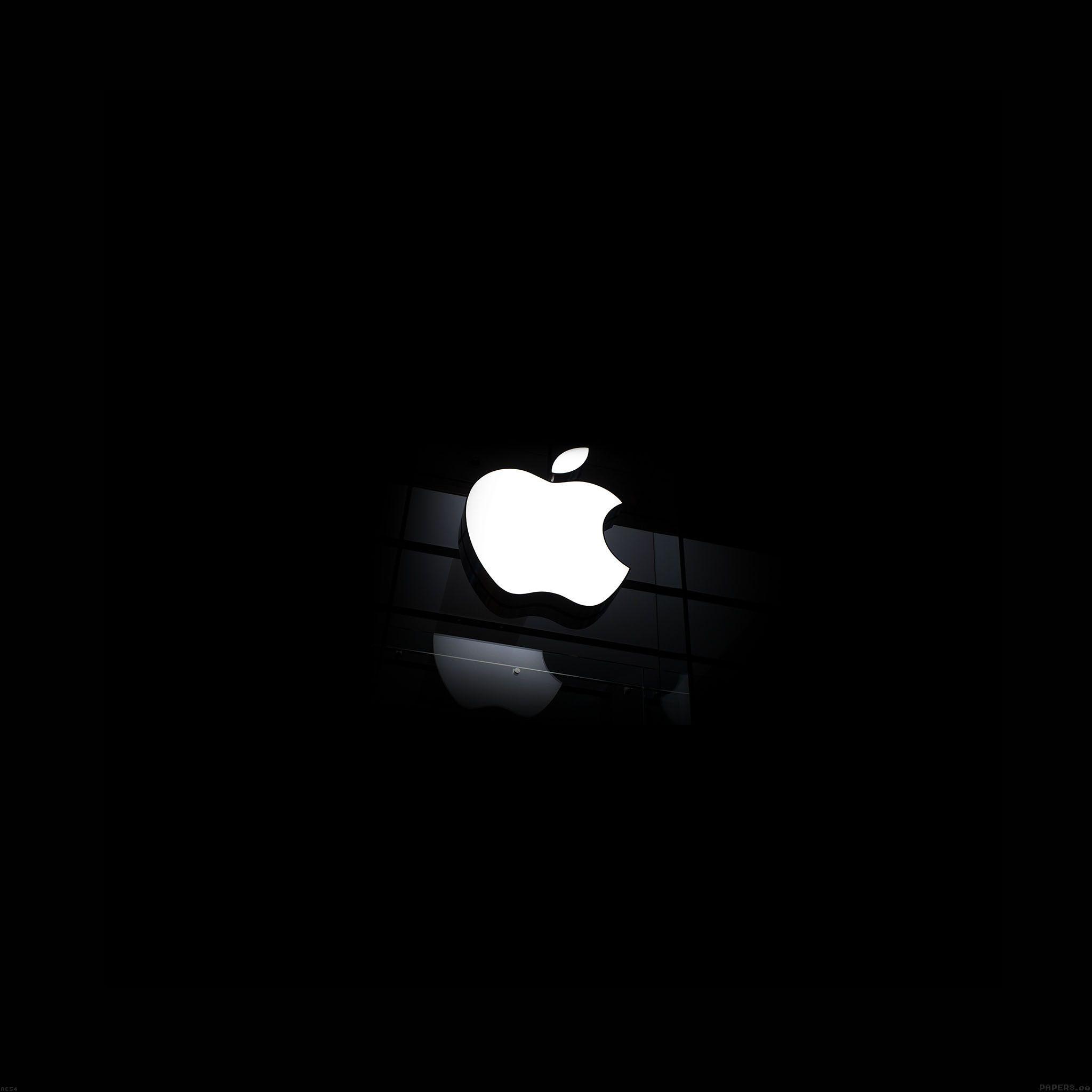 Fantasy : White Apple Glass Logo Dark Iphone 6 Brands In