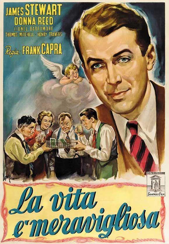 It's a Wonderful Life (Italian) 11x17 Movie Poster (1946 ...