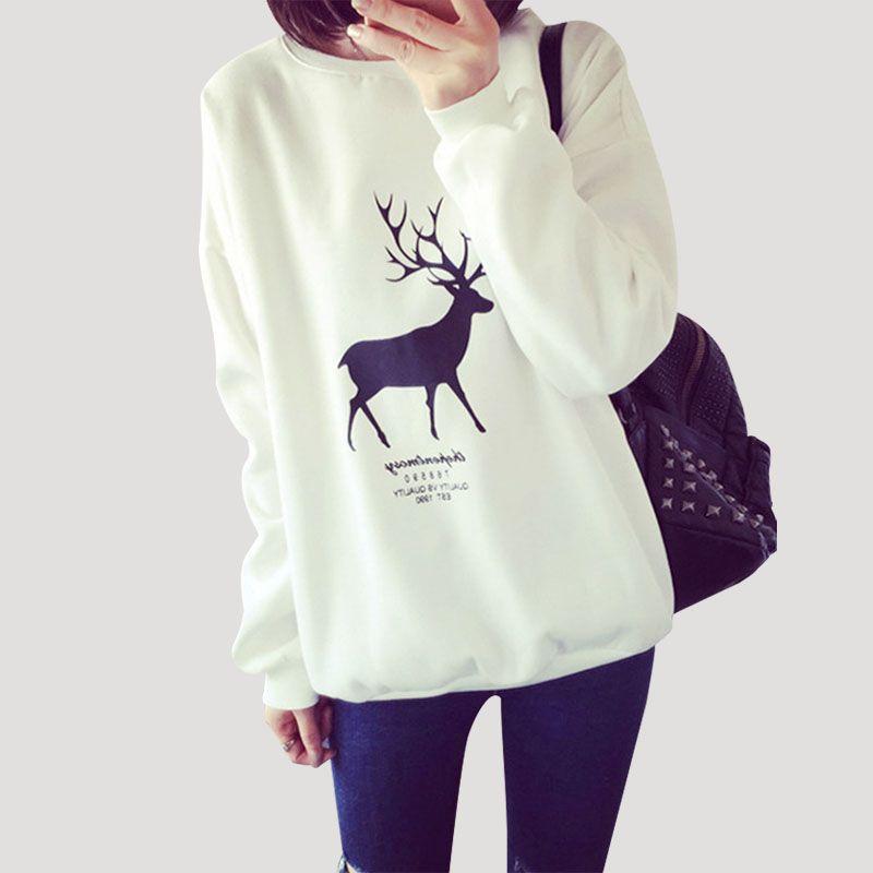 Mode-liebhaber Herbst Harajuku Kawaii Printed Sweatshirt Hoodies ...