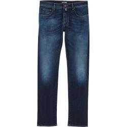 Jeans mit Stickerei für Herren #winteroutfitsforschool