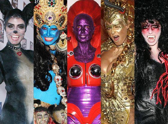 heidi klum in 14 wild halloween costumes - Wild Halloween Party