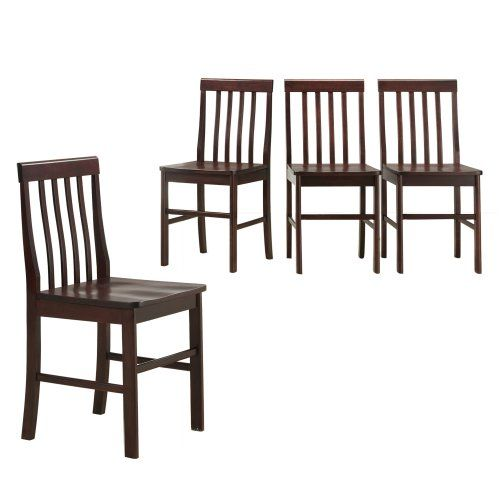 Inexpensive Dining Room Furniture | Solid wood dining chairs ...