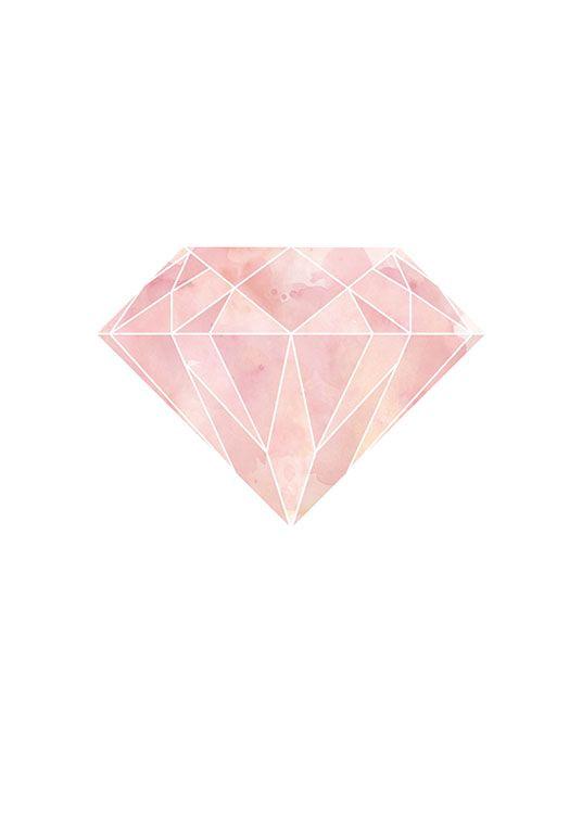 lyserød diamant