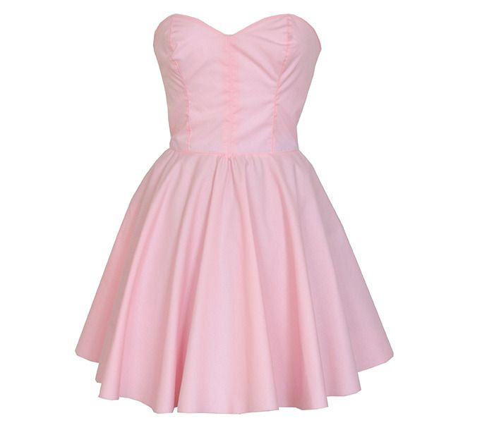 Pastel Pink Party Dress | Style Icon`s Closet | Clothes over Bros ...