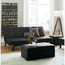 Walmart Delaney Splitback by DHP Futon Sofa Bed 3 Piece Living