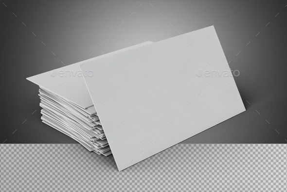 Blank Business Card On Transparent Background Blank Business Cards Business Card Template Psd Business Card Template Word