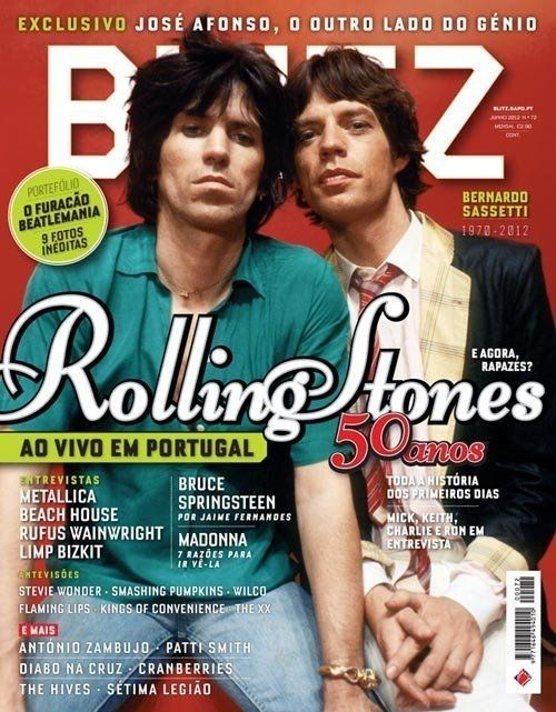 BLITZ, Portugal, June 2012. | 33 Rocking Pictures To Celebrate Keith Richards' 70th Birthday
