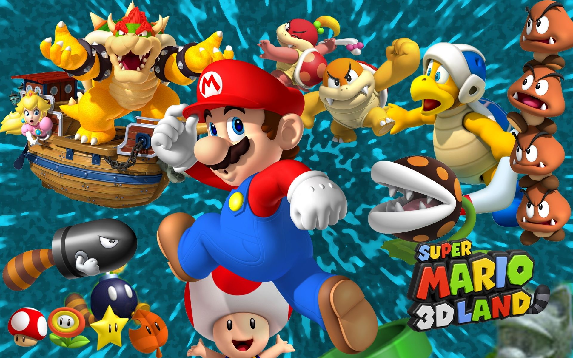 super mario 3d land My Nintendo News Super mario 3d