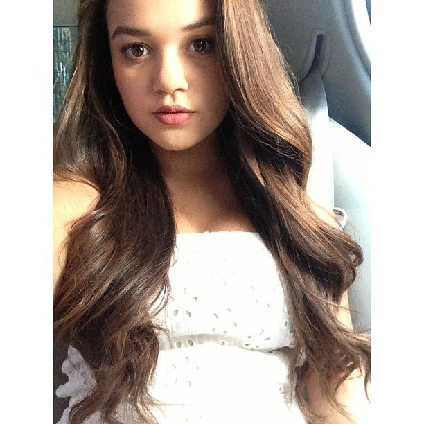 Madison Pettis (from natural spirally curls to wavy hair) I need ...