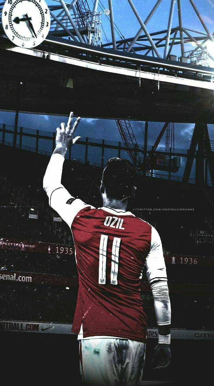 Mesut Ozil Arsenal Wallpaper Pemain Sepak Bola Sepak Bola Olahraga