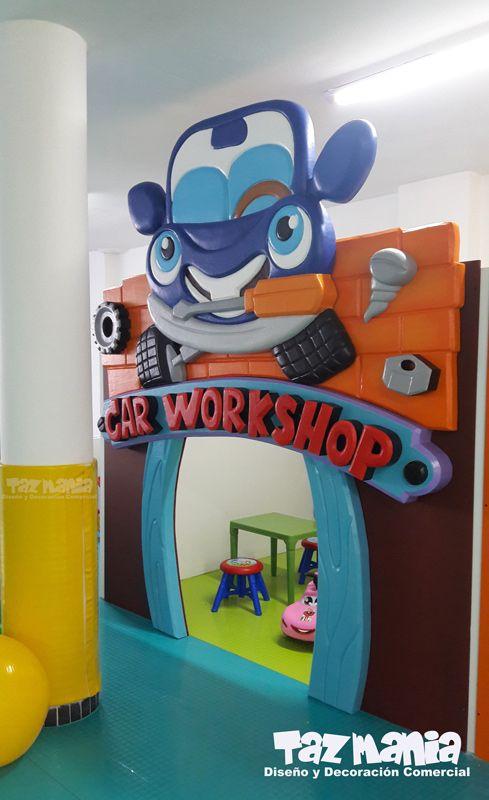 Decoracion Comercial Fachada Exterior E Interior Juegos Para Ninos
