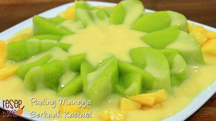 Resep Masakan Melayu Nusantara Yang Lezat Dan Nikmat Puding Mangga Resep Resep Masakan